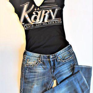 Black KARV top t-shirt
